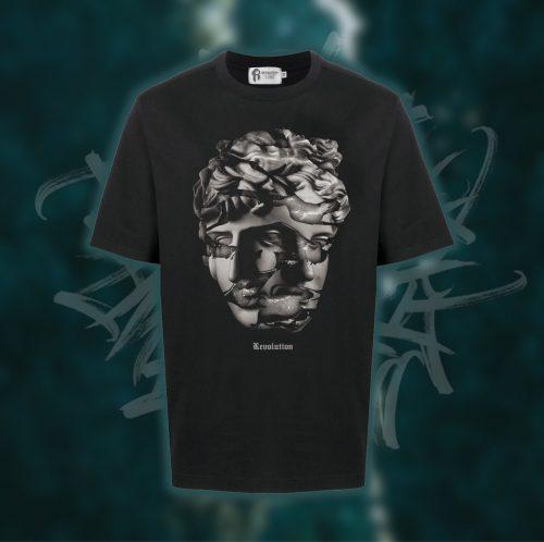 3. Fact Black T-shirt